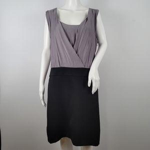 Ann Taylor LOFT Sleeveless color block Dress